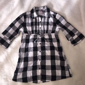 Justice for Girls Plaid Tunic